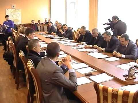 Комиссия Думы по Бюджету 21.01.2012 года