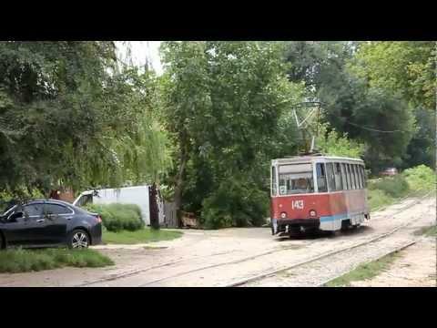 Трамвай гоняет по Новочеркасску