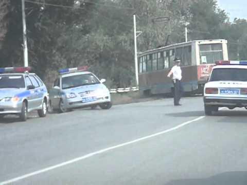 Новочеркасск. Трамвай сошел с рельс