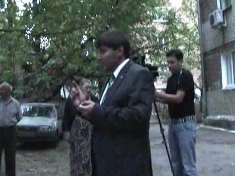 Встреча депутата Вадима Марыгина с жителями Энгельса 50