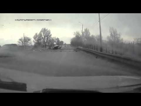 Жуткая авария в Новочеркасске (видео)