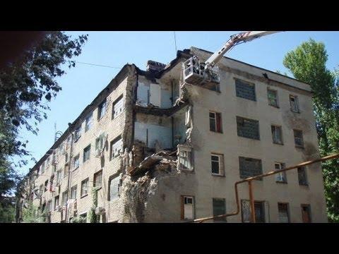 В Новочеркасске обвалился жилой дом