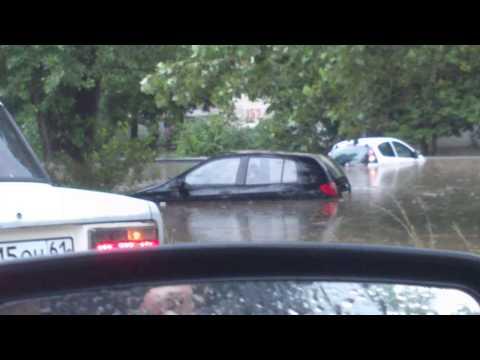 Новочеркасск ушел под воду (видео)