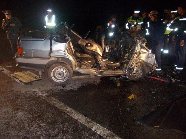 Страшная авария на выезде из Новочеркасска (18+)